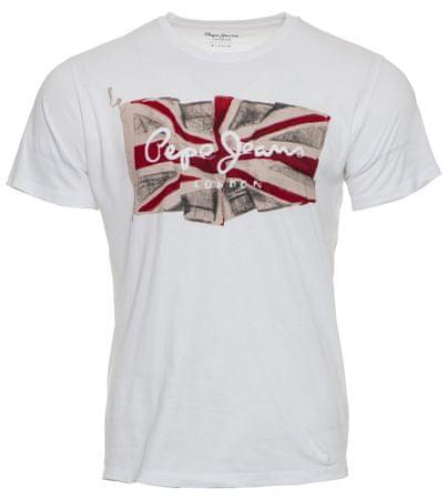 Pepe Jeans muška majica Logo, XXL, bijela
