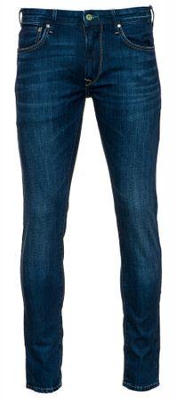 Pepe Jeans pánske jeansy Stanley 33/34 modrá