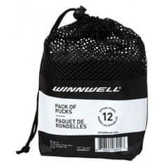 Winnwell Hokejový puk černý oficiální (12ks)