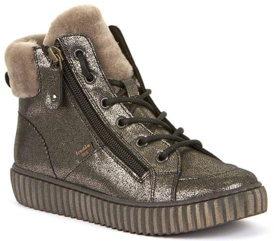 Froddo dievčenské členkové topánky 34 bronzová