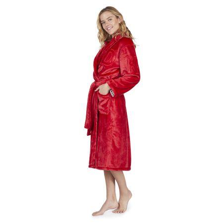 DKNY Dámský župan YI2019351F-600 červená - DKNY červená L + dárek zdarma