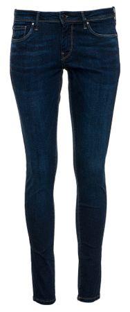 Pepe Jeans jeansy damskie Lola 26/30 ciemnoniebieskie