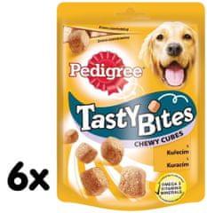 Pedigree przysmak Tasty Bites Chewy Cubes 6 x 130g