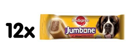 Pedigree palčke za žvečenje z govedino Jumbone Large, 12 x 210 g