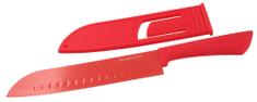 Fackelmann Nůž Santoku 33cm s krytem, TROPICAL