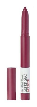 Maybelline Superstay Ink Crayon, rdečilo v obliki svinčnika, 60 Accept a Dare