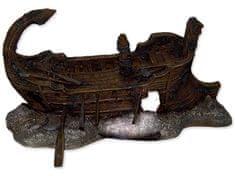 Aqua Excellent Dekorace akv. Torzo lodi 29,5×17×15,5 cm