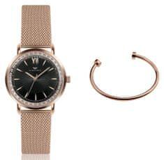 VictoriaWallsNY set dámskych hodiniek a náramku VWS046