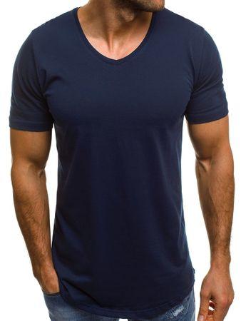 BUĎCHLAP Štýlové granátové tričko B/181590 XL