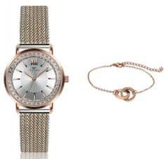 VictoriaWallsNY VWS047 komplet ženski ručni sat i narukvica