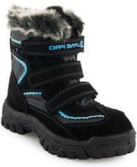 ALPINE PRO chlapčenské zimné topánky Ento