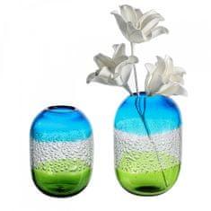 Papillon Sklenená váza Sierra, 21 cm