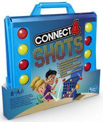 HASBRO Spoločenská hra Connect 4 Shots
