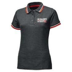 Held dámske tričko POLO BIKERS čierna/červená