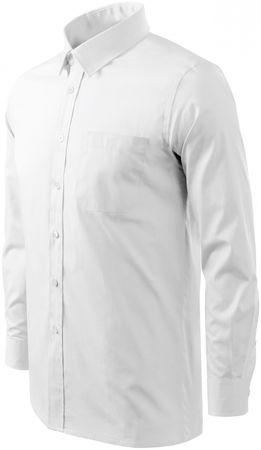 Malfini Bílá pánská košile s dlouhým rukávem