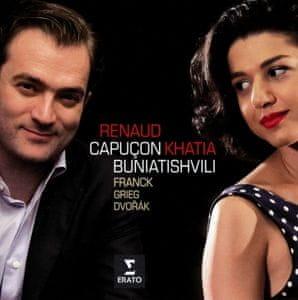 Capuçon Renaud, Buniatishvili Khatia: Franck, Dvorak, Grieg: Sonatas For Violin And Piano - CD