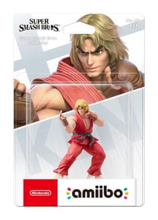 Nintendo Amiibo Ken igralna figura (Super Smash)