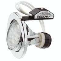 MEGAMAN MEGAMAN Zapuštěné svítidlo MEGAMAN L0302RC, 11W, GU10 – stříbrná L0302RC SV