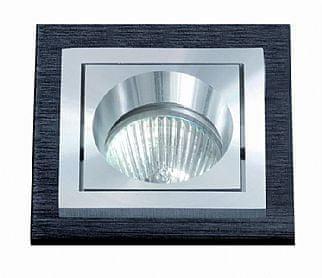 BPM BPM Vestavné svítidlo Aluminio Negro, černá, 1x50W, 230V 4896 3074GU