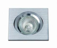 BPM BPM Vestavné svítidlo Aluminio Plata, kartáčovaný hliník 1x50W, 12V 172 3021