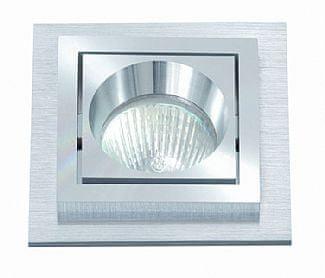 BPM BPM Vestavné svítidlo Aluminio Plata, kartáčovaný hliník 1x50W, 230V 158 3070GU