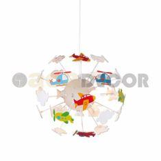 ACA ACA Lighting Dětské závěsné svítidlo MD160224AIR