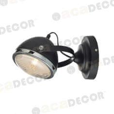 ACA ACA Lighting Vintage nástěnné a stropní svítidlo ML306131WBK