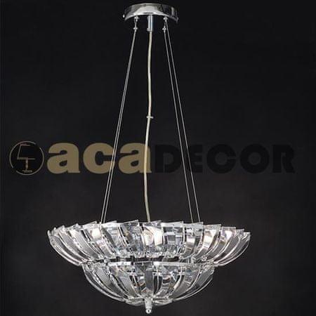 ACA ACA Lighting Crystal závěsné svítidlo LUCA454P