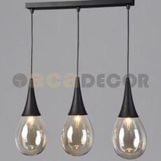 ACA ACA Lighting Avantgarde závěsné svítidlo OD53423SBK