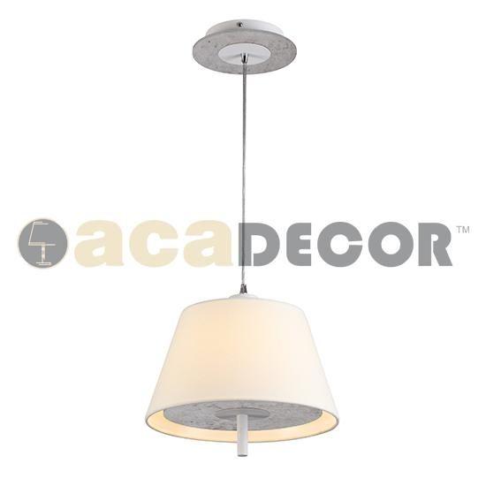 ACA ACA Lighting Textile závěsné svítidlo ZM16281PC