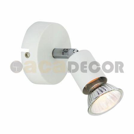 ACA ACA Lighting Spot nástěnné svítidlo MC634WH1
