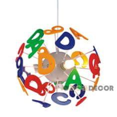 ACA ACA Lighting Dětské závěsné svítidlo MD70853E