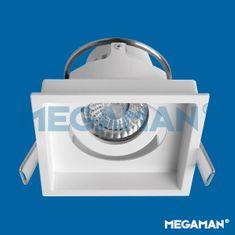 MEGAMAN MEGAMAN svítidlo ZEKI 50mm rám pro 1modul bílý F55752RC/WH26