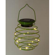 HEITRONIC HEITRONIC Solární LED lampa SPRING zelená 3000K 500005