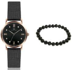 VictoriaWallsNY VWS055 komplet ženski ručni sat i narukvica