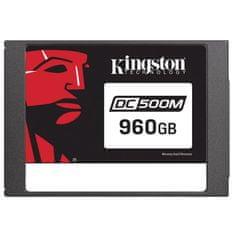 "Kingston DC500M 960 GB SSD disk, SATA3, 6,35 cm (2,5""), 3D TLC"