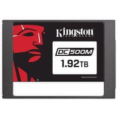 "Kingston DC500M 1920 GB SSD disk, SATA3, 6,35 cm (2,5""), 3D TLC"