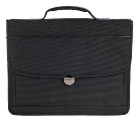 Enrico Benetti pánska business taška Carter 31211 čierna
