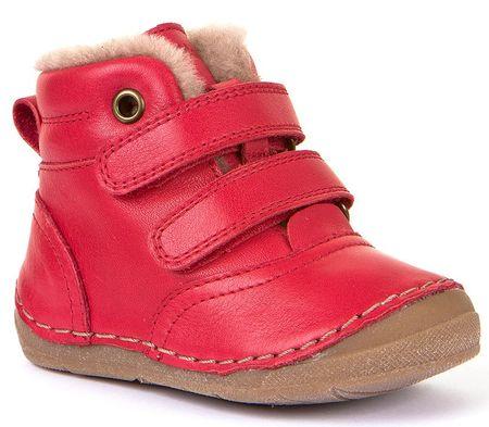 Froddo dětské kotníkové boty 20 červená