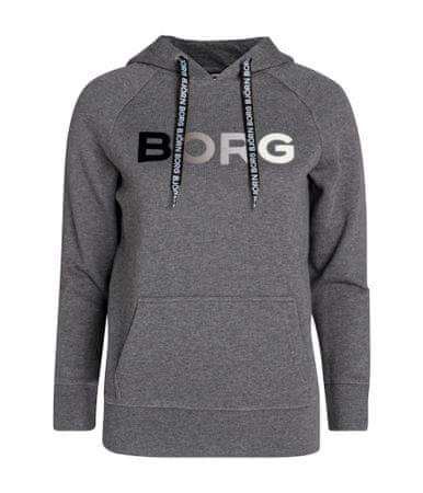 Björn Borg női pulóver Hood B Sport, 42, szürke