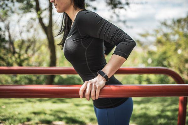 Fitness náramek Niceboy X-fit Active, sledování tepu, tlaku, kondice, aktivity