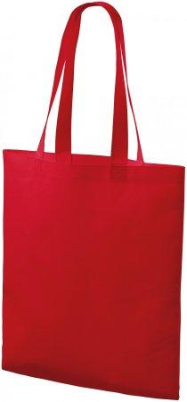 Piccolio Červená nákupní taška středně velká