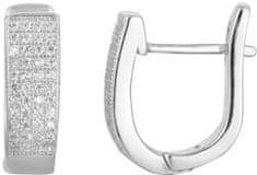 Beneto Ezüst fülbevaló kristályokkal AGU1165 ezüst 925/1000