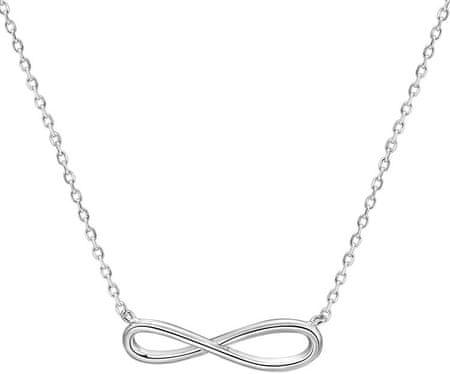 Beneto Srebrny naszyjnik nieskończoności AGS661 / 48 srebro 925/1000