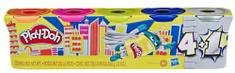 Play-Doh Strieborné balenie 5ks