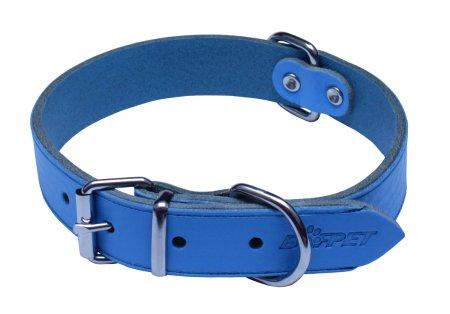 BAFPET Obojek ARGUS, hladký 55 cm světle modrá