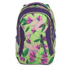 Satch Školský batoh Satch Sleek Ivy Blossom