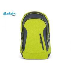 Satch Školský batoh Satch Sleek Ginger Lime