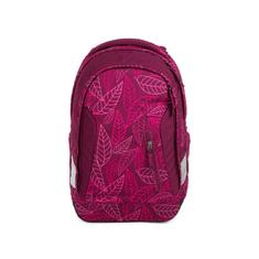 Satch Školský batoh Satch Sleek - Purple Leaves