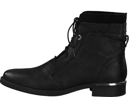 s.Oliver dámska členková obuv 25109 36 čierna